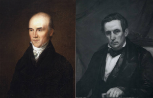 Joseph Caldwell (left), David Swain (right).